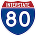 Interstate Route 80 Shield